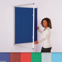 Internal Felt Tamperproof Noticeboards