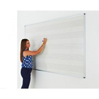 Music Ruled Whiteboards 1200 x 1200mm