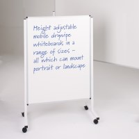 Height Adjustable Drywipe Noticeboards