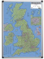 Magnetic Drywipe British Isles Sales & Marketing Map