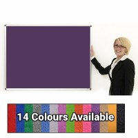 Eco-Sound Aluminium Framed Blazemaster Noticeboards