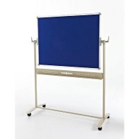 Mobile Double Sided Felt Noticeboards