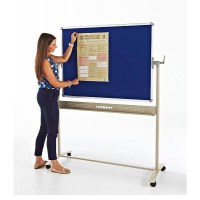 Blazemaster Fire Rated Mobile Felt Noticeboards