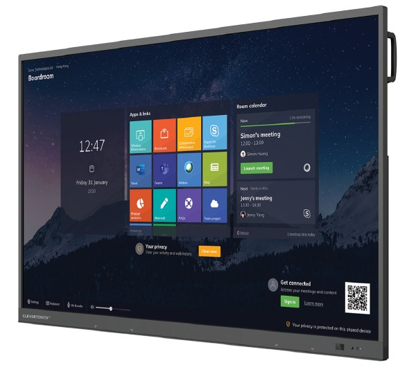 Clevertouch UX PRO Series High Precision Touchscreen