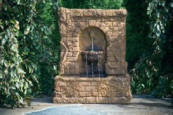 Fountain, Ivy Garden