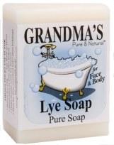 Soap, Grandmas Pure Soap 6 oz