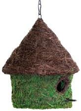 Birdhouse, Bungalow Moss LG
