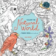 Book, Color the Natural World