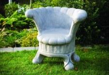 Statuary, Posh Garden Chair