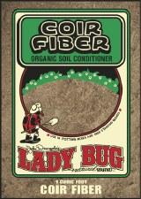 Ladybug Coir Fiber, 1cf
