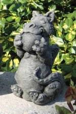 Statuary, Dragon Playing Ball