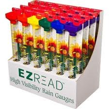 Rain Gauge, EZ Read Rainbow