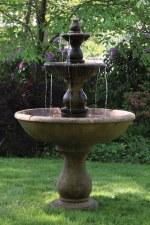Fountain, Boca Round 3-tier