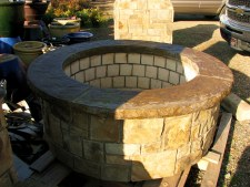 Fire Pit, Large Round, W/Ven