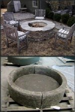 Fire Pit, Large Round