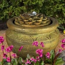 Fountain, Dahlia Patio Bubbler