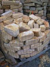 """Stone, Gold Tumbled 4"""", per lb"""