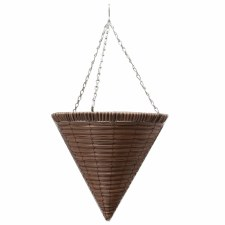"""Hanging Basket, Cone S.W. 14"""""""