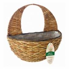 Hanging Basket, Wall Natural