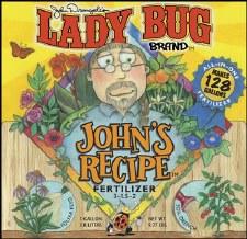 LadyBug John's Fertilizer, 1g