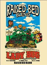 LadyBug Raised Bed Blend, 2cf
