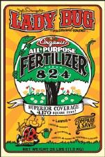 Ladybug Fertilizer 8-2-4, 25lb
