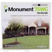 Monument, 75WG Sedge Herbicide