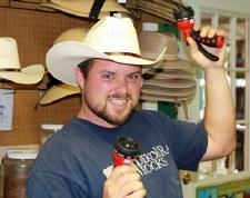 Hat, Cowboy, size 7 1/8