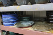 Pottery, Saucer,  Mixed Large
