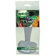 "Rapiclip, T Label, Plastic 6"""