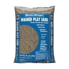 Sand, Bag, Washed Play .4cf