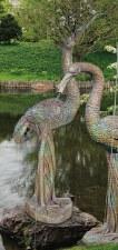 Statuary, Crane Female Plumbed