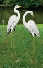 Statuary, Crane, White