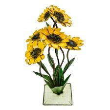 Statuary, Sunflower on Base MD