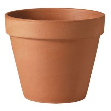 "Pottery, TC, Standard 10"" Pot"