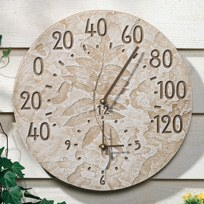 Thermometer, Sumac Fossil, 14""
