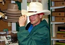 Hat, Cowboy, size 6 7/8