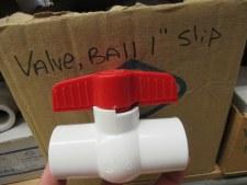 "Valve, Ball 1"" SXS"