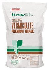 Vermiculite, Medium, 4 c ft