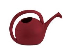Watering Can, Round, Red, 2g