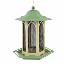 Bird Feeder, Metal Chalet