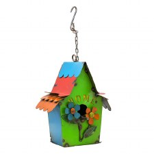 Birdhouse, Home with Flowers