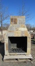 "Fireplace, Patio 24"", W/Ven"