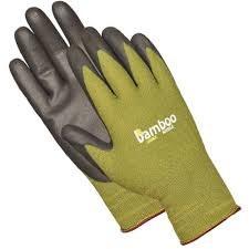 Glove, Bamboo, Nitrl, L