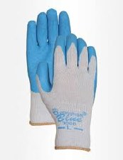 Glove, Blue,  XL