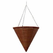 """Hanging Basket, Cone M.P. 14"""""""