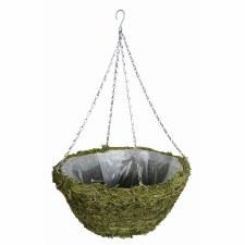 """Hanging Basket, Moss 14"""""""