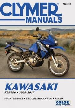 Clymer Kawasaki M240-2