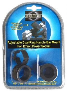 EKLIPES Dual Ring H/Bar Mnt BK