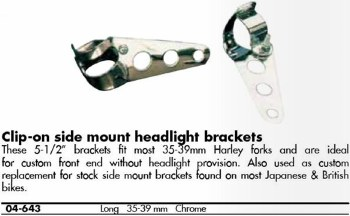 Headlight Bracket Univ CHR